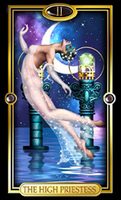 Image for The High Priestess from Easy Tarot