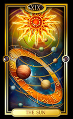 Picture of The Sun from Easy Tarot