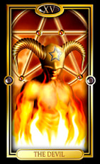 Picture of The Devil from Easy Tarot