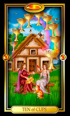 Ten of Cups Tarot Card Meanings and Combinations | Learn