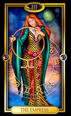 Picture of The Empress from Easy Tarot